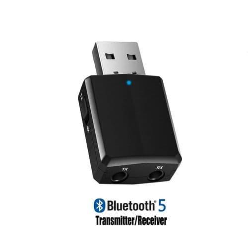 Récepteur Émetteur Audio Usb Bluetooth 5.0 Adaptateur Edr Dongle 3.5Mm Aux